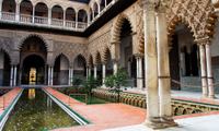 Seville Sightseeing Tour: Royal Alcazar Palace, Plaza de Espana, Seville Cathedral and Santa Cruz Quarter Photos