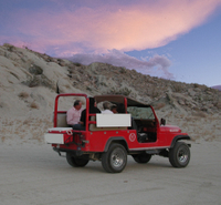 Small-Group Sunset and Nighttime Stargazing Tour to the San Andreas Fault from Palm Springs  Photos