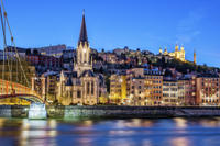 Small-Group Walking Tour: Lyon at Night