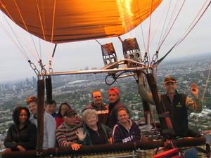 Melbourne Balloon Flight at Sunrise Photos