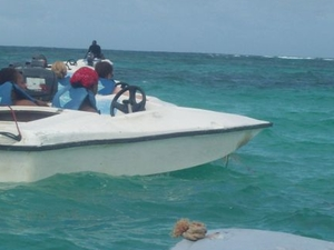 Bavaro Splash Speedboat Ride Photos
