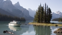 Spirit Island Cruise on Jasper's Maligne Lake Photos