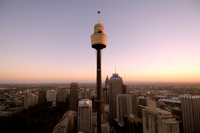Sydney Shore Excursion: Sydney Tower Restaurant Buffet Photos
