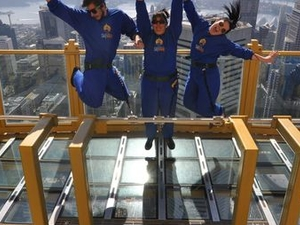 Sydney Skywalk at Sydney Tower Eye Photos
