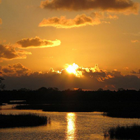 Tampa Bay Sunset Helicopter Tour Photos