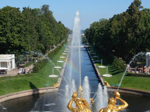Half Day Tour of Peterhof (Petrodvorets) Photos