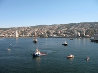 Valparaiso Like a Local: Private Walking Tour with Harbor Cruise Including Transport from Santiago Photos