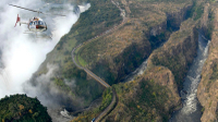 Victoria Falls Helicopter Tour Photos