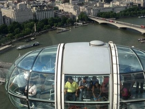 London Eye: Champagne Experience Photos