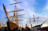 Walking Tour of New York's Historic South Street Seaport Photos