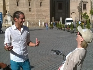 Seville Electric Bike Tour Photos