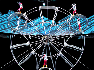 Shanghai Circus World: ERA Intersection of Time Acrobatics Show Photos