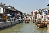 Zhujiajiao Water Village Half Day Tour Photos