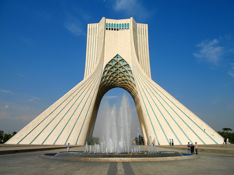 Azadi Tower Tehran Iran Tourist Information