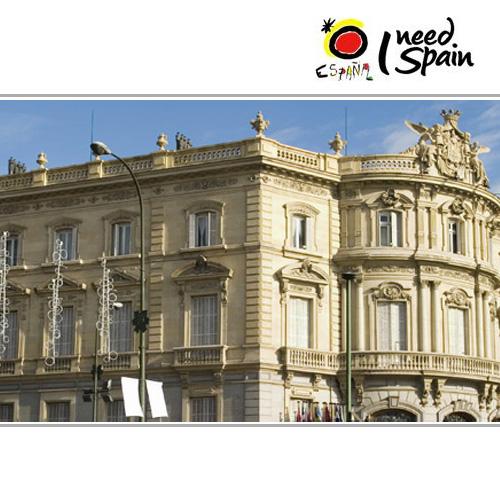Casa de america linares palace madrid spain tourist for Casa america madrid