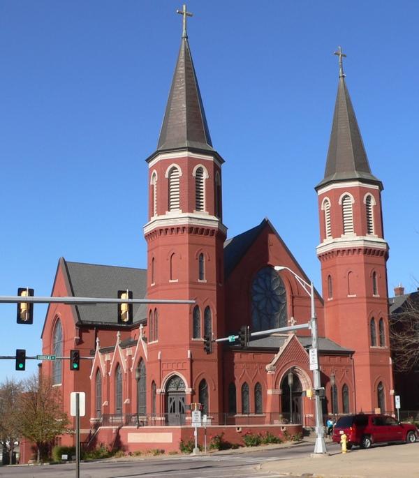 Catedral de la epifanía, Sioux City, Estados Unidos
