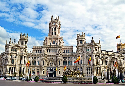 Plaza de cibeles madrid espa a informaci n tur stica for Oficina turismo francia en madrid