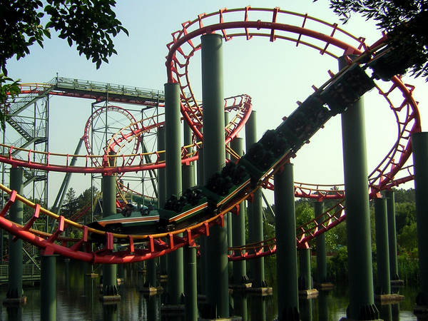 Doswell (VA) United States  City new picture : Anaconda Roller Coaster, United States Tourist Information