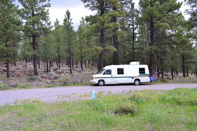 Singletree Campground Richfield United States Tourist