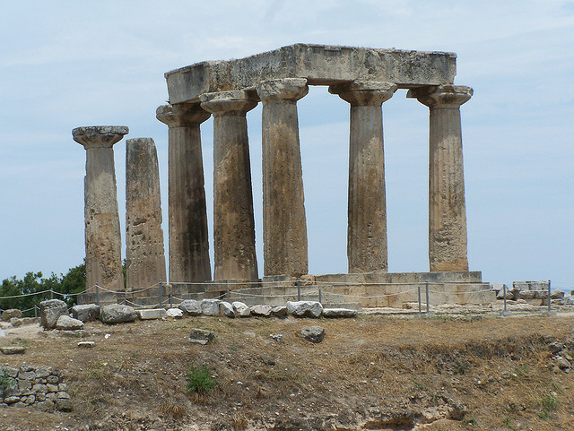 Isthmia Greece  city pictures gallery : Temple Of Isthmia, Greece Tourist Information